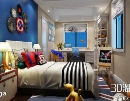 اتاق کودک آمریکایی
