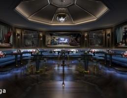 صحنه داخلی فضای کارائوکه