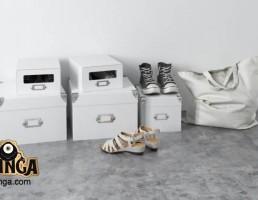 جعبه + کیف + کفش