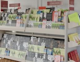 قفسه کتاب فروشگاهی