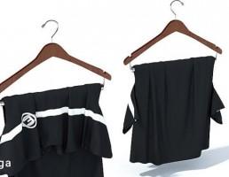 رخت آویز + لباس مجلسی