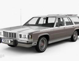 ماشین مرکوری مدل Marquis Colony سال 1981