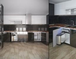 ست آشپزخانه مدرن k&k