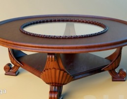 میز گرد شکل
