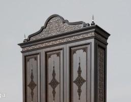 کمد دیواری چوبی کلاسیک