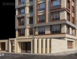 نمای خارجی ساختمان کلاسیک