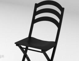 صندلی تاشو مشکی