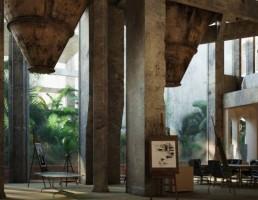 صحنه داخلی مدرن
