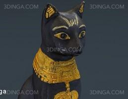 مجسمه گربه مصری