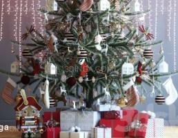 درخت کریسمس + هدیه