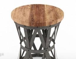 میز چوبی (صندلی چوبی)