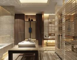صحنه حمام سبک چینی 1