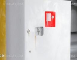 جعبه شلنگ آتش نشانی