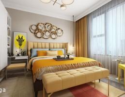 نمای داخلی اتاق خواب
