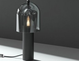 مدل سه بعدی چراغ رومیزی  مدرن