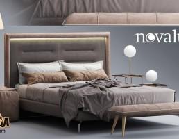 تختخواب مدرن Novaluna
