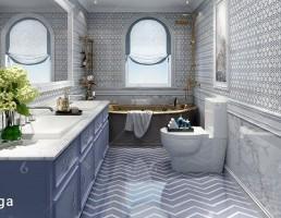 صحنه داخلی حمام اروپایی