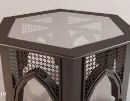 میز عسلی مراکشی