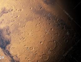 مدل سه بعدی مریخ