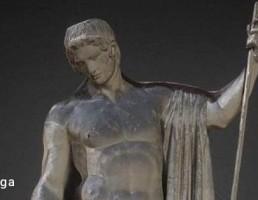مجسمه از خدا عشق یونان
