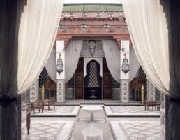 صحنه داخلی عمارت