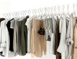 رخت آویز +لباس زنانه