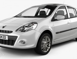 ماشین رنو Clio سال 2010