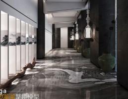 صحنه داخلی راهرو
