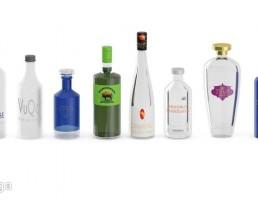 بطری مشروبات الکلی