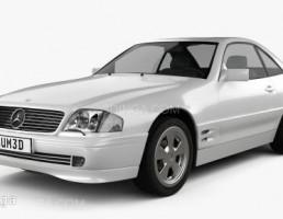 ماشین مرسدس بنز مدل R129 سال 2002