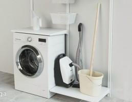 ماشین لباسشویی + جاروبرقی + خشک کن