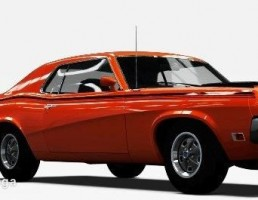 ماشین Mercury Cougar Eliminator  سال 1970