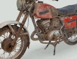 موتور قدیمی شوروی