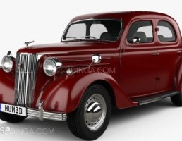 ماشین فورد Pilot سال 1947