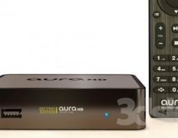 دستگاه مدیا پلیرAURA HD  با کنترل