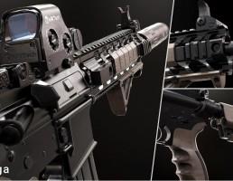 پکیج اسلحه های مدرن FPS