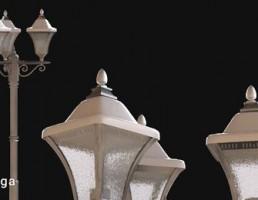 چراغ حیاطی کلاسیک