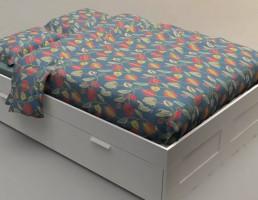 تختخواب مدرن IKEA / BRIMNES