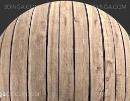 تکسچر تخته چوبی فرسوده