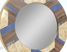 آینه گرد شکل