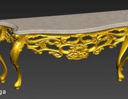 میز کنسول کلاسیک