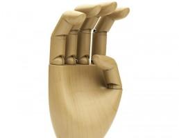 مدل سه بعدی دست چوبی  از شرکت Dimensiva