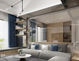 صحنه داخلی آپارتمان