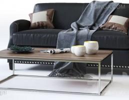 مبل راحتی + میز عسلی مدرن
