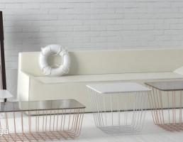 مبل راحتی + جلو مبلی مدرن