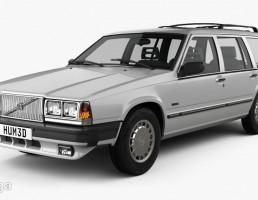ماشین ولوو آمریکایی سال 1985