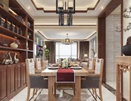آشپزخانه و غذاخوری  سبک چینی 13