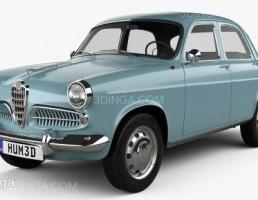 ماشین آلفا رومئو مدل Giulietta سال 1955