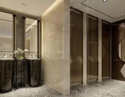صحنه داخلی حمام و توالت مدرن 8
