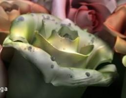 دسته گل رز